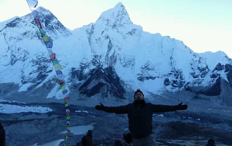 View from Kala Patthar with Everest Summit